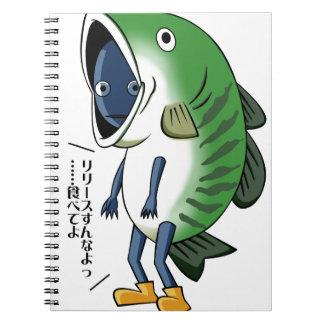 Fisherman English story Kinugawa Tochigi Notebook