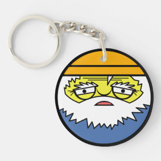 Fisherman Face Keychain