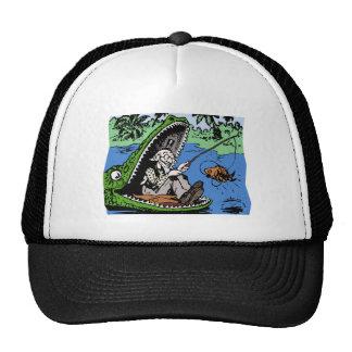 Fisherman in a Gator Trucker Hat