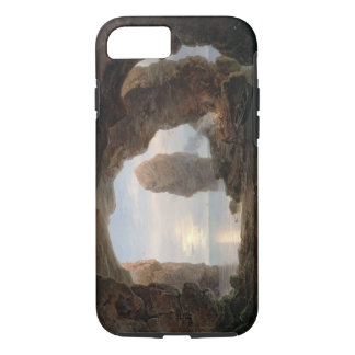Fisherman in a Grotto, Helgoland, 1850 (oil on can iPhone 7 Case