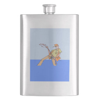 Fisherman Inside classic flask