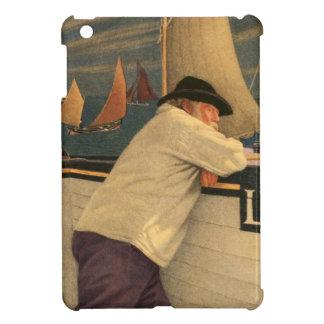 Fisherman Joseph Southall Sailboat Nautical Ocean iPad Mini Cover