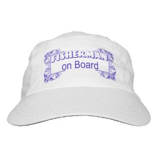 Fisherman on board hat