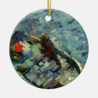 fisherman_saikung Hong Kong Ceramic Ornament