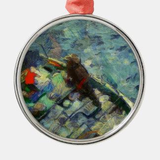 fisherman_saikung Hong Kong Metal Ornament