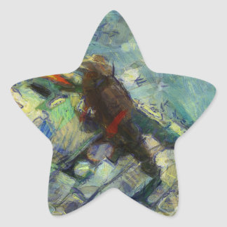 fisherman_saikung Hong Kong Star Sticker