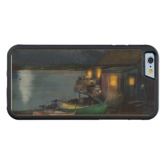Fisherman - The Fisherman's Cabin 1915 Carved Maple iPhone 6 Bumper Case