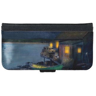 Fisherman - The Fisherman's Cabin 1915 iPhone 6 Wallet Case
