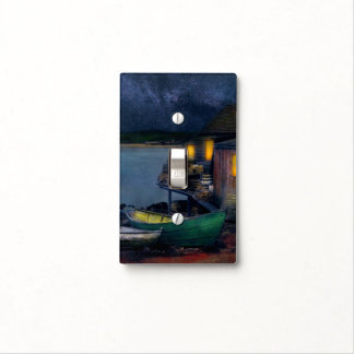 Fisherman - The Fisherman's Cabin 1915 Light Switch Cover