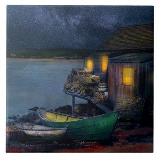 Fisherman - The Fisherman's Cabin 1915 Tile