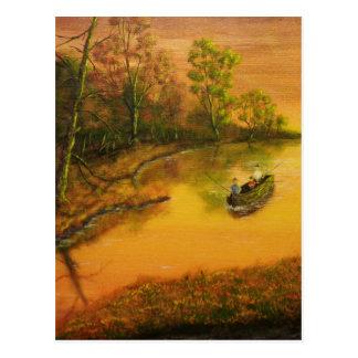 """Fisherman's Alley"" by Jack Lepper Postcard"