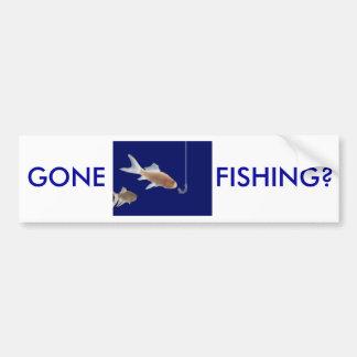 Fisherman's Bumper Sticker