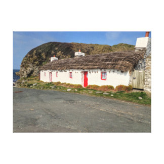 Fishermans Cottage Canvas Print
