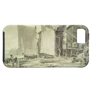 Fisherman's Cottage, Dover, 1790s (pencil & grey w iPhone 5 Cases