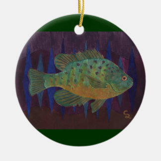 Fisherman's Delight Ceramic Ornament