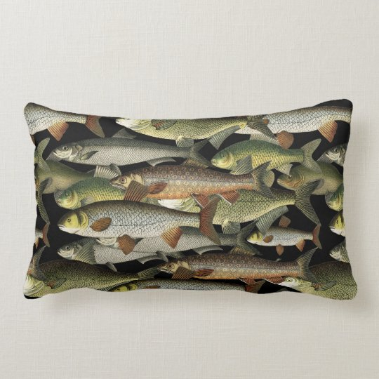 Fisherman's Fantasy Lumbar Pillow