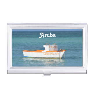 Fisherman's Hut Beach Case For Business Cards