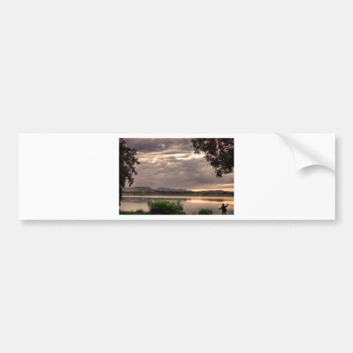 Fisherman's Sky Bumper Stickers
