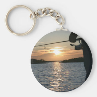 Fisherman's Sunset Keychain