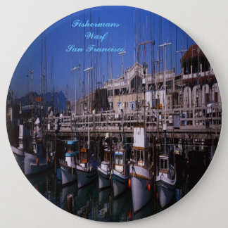 Fishermans Warf San Francisco button
