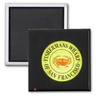 Fishermans Wharf Magnet Magnets