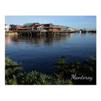 Fisherman's Wharf, Monterey, California Postcard