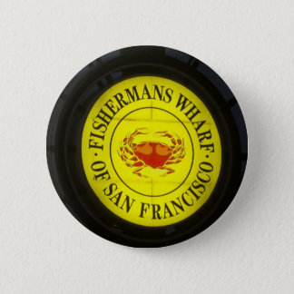 fisherman's Wharf of San Francisco 2 Inch Round Button