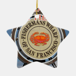 Fishermans Wharf San Francisco California USA CA Ceramic Ornament