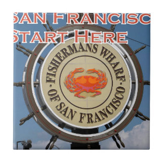 Fishermans Wharf San Francisco California USA CA Tile