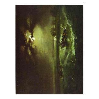 Fishermen at Sea J. M. W. Turner , 1796, oil on ca Postcard