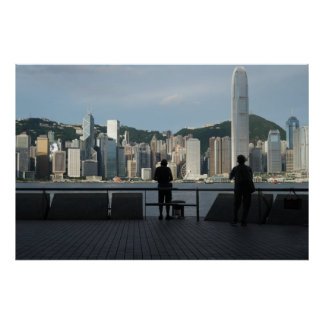 Fishermen on the Kowloon Public Pier Poster