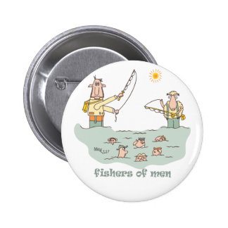 Fishers at the Pond Pins