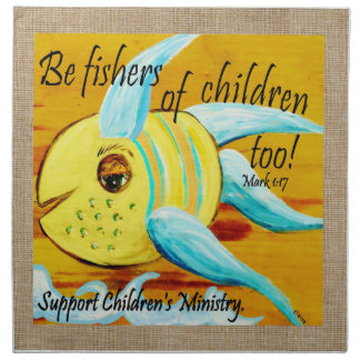 Fishers of Children Too Napkin