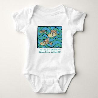 Fishers of men baby bodysuit