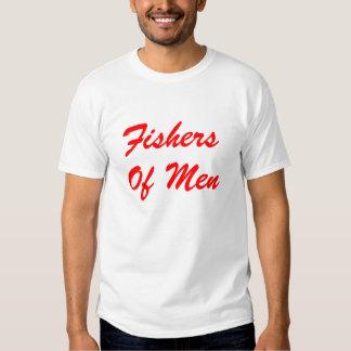 Fishers of Men (Baseball Logo) T Shirts