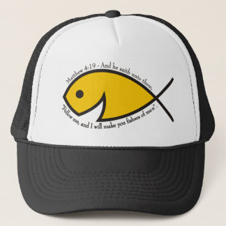 Fishers Of Men - Matthew 4:19 Trucker Hat