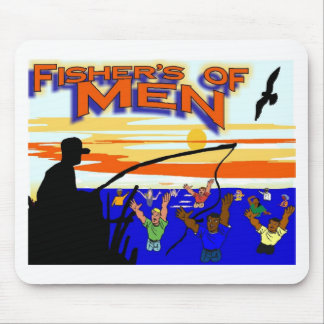 Fishers of men mouse pad