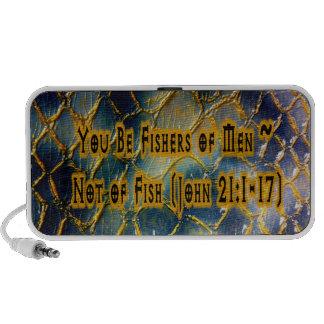 Fishers Of Men Portable Speakers