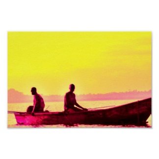 Fishers of Men (yellow) Poster