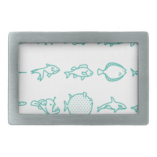 Fishes Belt Buckles