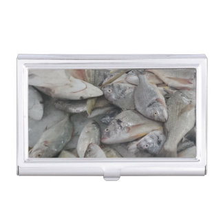 Fishes Business Card Holder