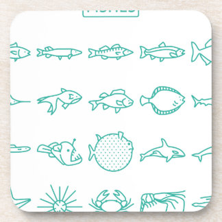 Fishes Coaster