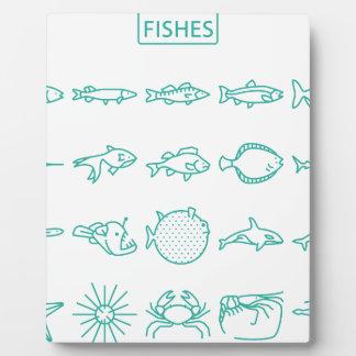 Fishes Plaque