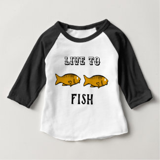 fishes swimming baby T-Shirt