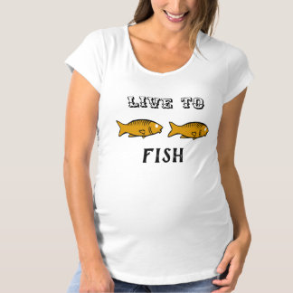 fishes swimming maternity T-Shirt