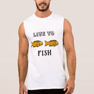 fishes swimming sleeveless shirt