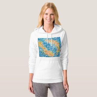 Fishes with ripples hoodie