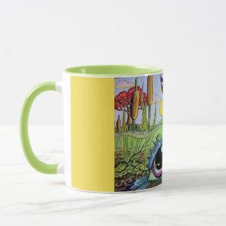 Fisheye pond mug