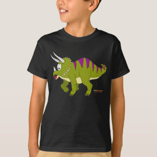 Fishfry Designs Dark Triceratops T-Shirt
