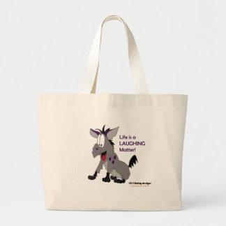 Fishfry designs hyena tote bag